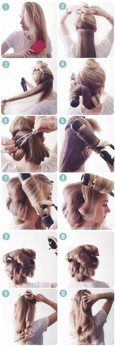 Faking-a-professional-blowdry-tutorial-via-The-Beauty-Department