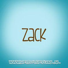 Zack (Voor meer inspiratie, en unieke geboortekaartjes kijk op www.heyboyheygirl.nl)