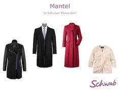 Mit einem modischen #Mantel müssen Frauen und Männer nicht mehr frieren!