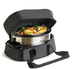 """Amazon.com: Thermal Slow Cooker Travel Bag For The """"Crock Pot"""" 6 and 7 Quart…"""