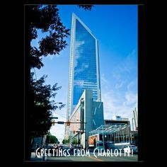 Greetings from Charlotte! Postcards from Zazzle.com