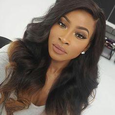 Gorgeous makeup for black girls #beautybyjj