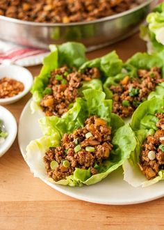 How To Make Chicken Lettuce Wraps like the ones from P.F. Chang's