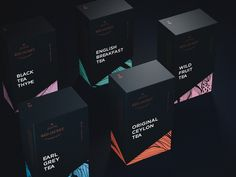 Creative Agency: Plenum  Project Type: Produced, Commercial Work  Location: Moscow, Russia  Packaging Contents: Tea  Packaging Substrate /...
