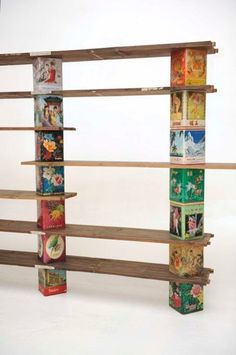 I should own this piece of furniture. #tins #upcycled #jonasdesign