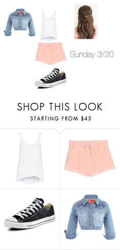 """sunday"" by disneyboundqueen on Polyvore featuring rag & bone, Wildfox and Converse"