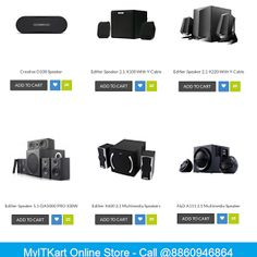 Get Your Best Deal to Buy Speakers Online from MyITKart!