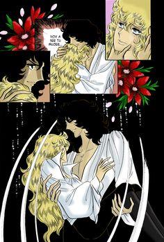 Lady Oscar - Rose of Versailles manga colour