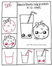 Image result for easy thing to draw for beginners step by step