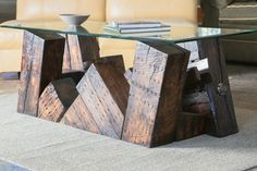 Derailment Coffee Table (No. 12) from Rail Yard Studios