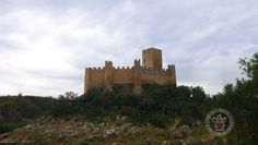 Vistas sobre o Castelo de Almourol, do dia 1 de Julho de 2015.