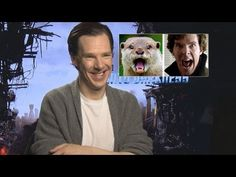 Benedict Cumberbatch Talks About His Otter Meme, Star Trek prank and his characters. YouTube 3:30 - 13:00 on video.