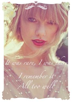 taylor swift is my favorite, and this is one of my favorite songs by her