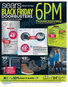 6cd7f5f4783e Sears Black Friday Ad 2017 is here! See what s going on sale this year and  get the best Sears Black Friday deals
