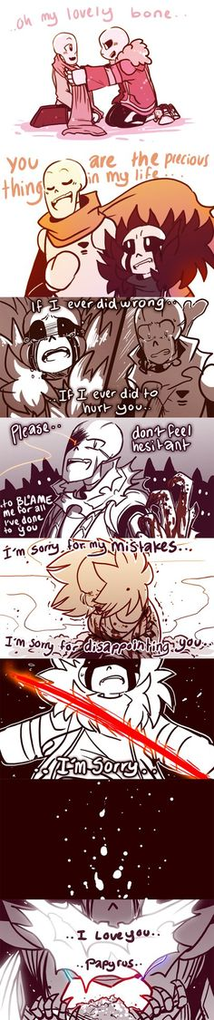 Of course Sans wouldn't change much after Papyrus achieves his dream of popularity and prestige, since Sans already thinks the world of him. Sans, Papyrus (c) Undertale: high levels of fluff