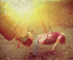 tire swings. i loved them as a child.