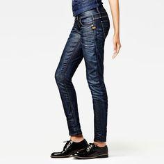 G-Star RAW | Women | Jeans | LYNN SKINNY WMN Medium aged
