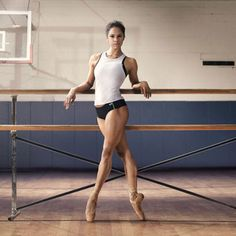 """My new body goal - Misty Copeland is one badass athlete & her debut Under Armour ad—part of the brand's expansive """"I Will What I Want"""" campaign proves it."""