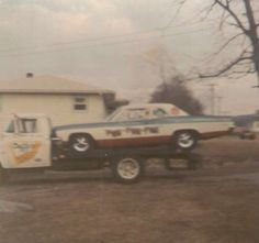Car hauler and drag car