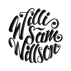 Logo for Willi Sam Willson.  More on: https://instagram.com/jacktype/