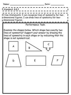 Tasks for 4th Grade Common Core Math!