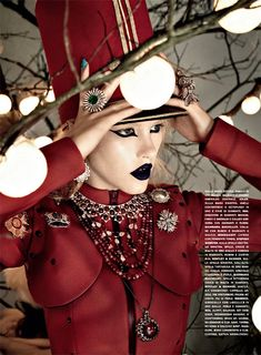 'Like a Toy Soldier' Ashley Smith by David Dunan for Vogue Gioiello December 2010
