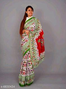 Mumul cotton Saree:Starting ₹810/- free COD whatsapp+919199626046 Cotton Blouses, Cotton Saree, Printed Sarees, Printed Blouse, Block Print Saree, Online Shopping Sarees, Types Of Fashion Styles, Cod, Kimono Top