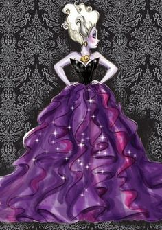 Disney Designer Villain - Ursula by Stephen Thompson.