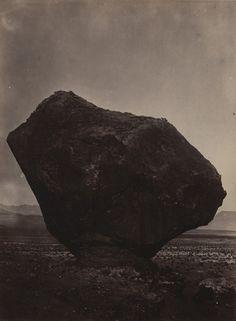 William H. Bell. Perched Rock, Rocker Creek, Arizona. 1872