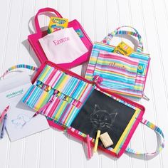 Personalized Doodlebag for flowergirl or Jr Bridesmaids.. Look who's name is already there :)
