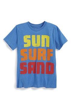 Peek+'Sun+Surf+Sand'+T-Shirt+(Toddler+Boys,+Little+Boys+&+Big+Boys)+available+at+#Nordstrom