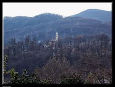 Church among the trees of the hill by Giancarlo Gallo