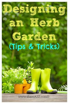 Versatile Herb Garden Design tips and tricks you need to know in the planning phase!  Good Information on this one!!!  #Gardening #HerbGarden
