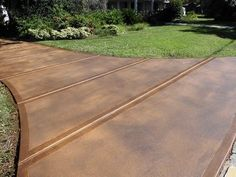 stained concrete driveway - Google Search More