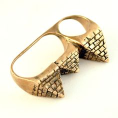 Pyramid Ring by Lillian Crowe - I want this so bad!