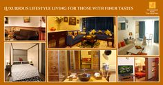 Select from an eclectic mix of the pure vintage colonial essence, the oriental chic, the exotic avant garde edge or the uber urban glam, our Lifestyle Suites leave an indelible impression of varied vibrancy through the immaculately orchestrated design elements. Click here for reservations. http://bit.ly/1IjHYkx