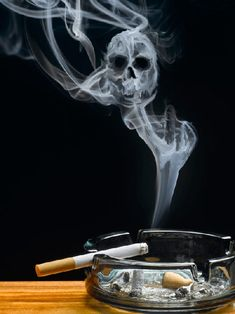 Amazing Example of Smoke Art and Photo Manipulation Seen On  www.coolpicturegallery.us