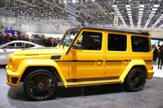 """Mercedes-Benz G-Class """"Gronos"""" by #Mansory (840 PS/828 hp/617 kW) #mbhess #mbcars #mbtuning"""