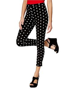 Hue Womens Dotted Loafer Leggings XS US Womens 02 x 26 Black -- Check out the image by visiting the link.