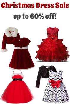 Christmas Dresses for Little Girls! So many gorgeous red ruffles, velvet, santa, and chevron! Cute and classy styles for your little princess. on a budget! Little Girl Shoes, Little Girl Outfits, Kids Outfits, Girls Christmas Dresses, Holiday Dresses, Girls Dresses, Santa Dress, Super Cute Dresses, Sweet Girls