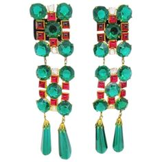 Blue Bracelet Earrings Matte Silvertone Faux Turquoise Cabochons Tara Fifth Avenue Vintage