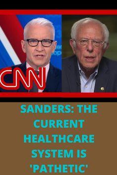 Democratic presidential candidate Sen. Bernie Sanders talks to CNN's Anderson Cooper ahead of Super Tuesday voting.