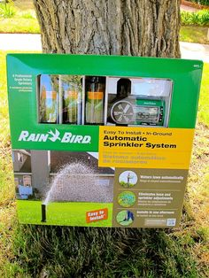 Rain Bird Easy To Install Automatic Sprinkler System This Was So And Hooks Up A Hose Spigot We Now Have Sprinklers In Our