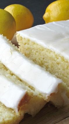 A delicious recipe for Italian Lemon & Olive Oil Pound Cake. This cake has a wonderful natural lemon flavor and is moist and dense. Italian Desserts, Lemon Desserts, Lemon Recipes, Just Desserts, Baking Recipes, Cake Recipes, Health Desserts, Healthy Recipes, Mini Cakes