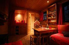 interior gypsy wagon                                                                                                                                                                                 More