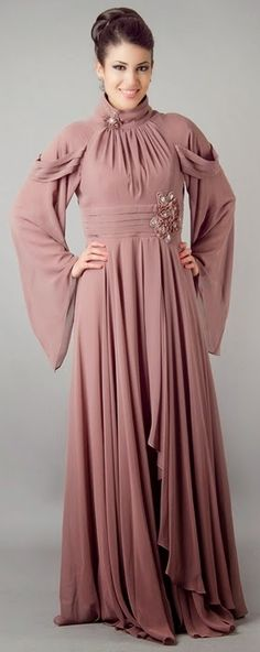 Howto by this  pink UAE Trendy Abaya 2014