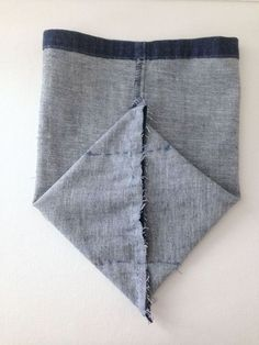 Cut 12 inch high from hem, sew 3 seams= easy denim basket from the legs of a…
