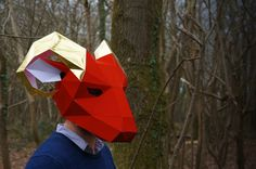 Build your own Ram Mask by Wintercroft on Etsy