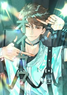 Hot Anime Boy, Cute Anime Guys, Anime Boys, Manga Boy, Manga Anime, Anime Art, Haikyuu Fanart, Haikyuu Anime, Dark Fantasy