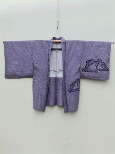 http://www.fujikimono.co.uk/fabric-japanese/purple-dawn.html ☆ New Arrival ☆ 'Purple Dawn' #women's #purple #silk #vintage #shibori #tiedyed #haori #kimonojacket from #FujiKimono  #textile #Japanese #oriental #costume #cosplay #kawaii #HyperJapan #VintageFair #purpledawn